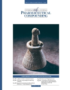 Sep/Oct 1998 - Parenteral Nutrition Solutions (PDF)