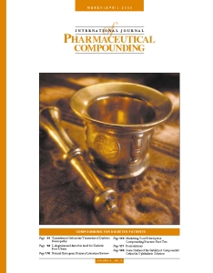 Mar/Apr 2000 - Compounding for Diabetes Patients (PDF)