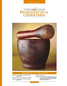 May/Jun 2000 - Compounding for the Ear, Nose and Throat (PDF)