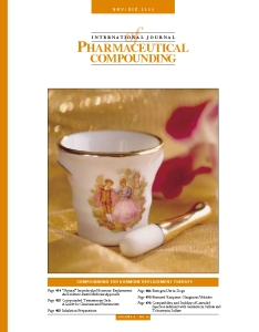 Nov/Dec 2000 - Compounding for Hormone Replacement Therapy (PDF)