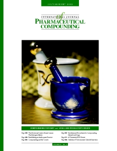 Jul/Aug 2002 - Compounding for BHRT and, Legal and Regulatory Issues (PDF)