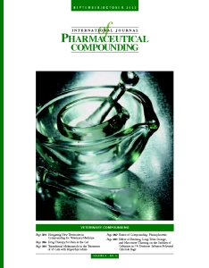Sep/Oct 2002 - Veterinary Compounding  (PDF)