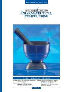 Sep/Oct 2004 - Topical Treatments in Wound Healing  (PDF)