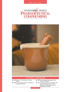 May/Jun 2005 - Veterinary Compounding (PDF)
