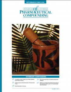 Sep/Oct 2009  - Veterinary Compounding (PDF)