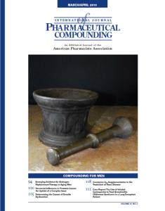 Mar/Apr 2010  - Compounding for Men (PDF)